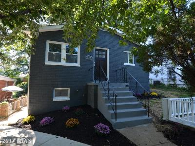 Capitol Heights Single Family Home For Sale: 1118 Drum Avenue