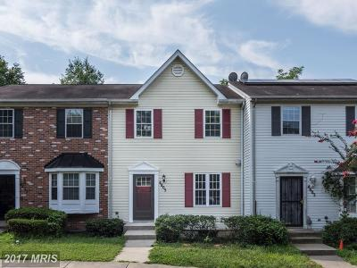 Capitol Heights Townhouse For Sale: 4805 Pistachio Lane