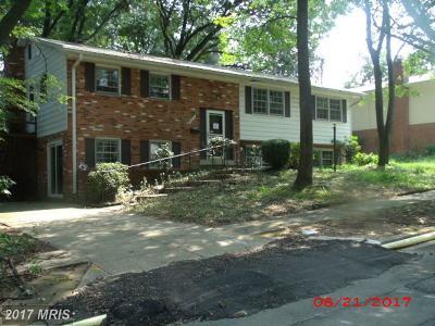 Lanham Single Family Home For Sale: 6907 Lyle Street