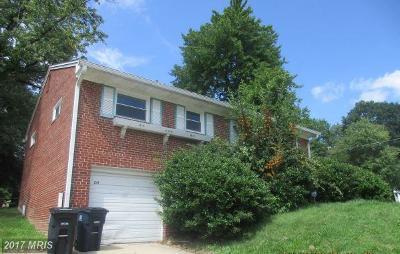 Hillcrest Estates, Hillcrest Gardens, Hillcrest Heights, Hillcrest Towne Single Family Home For Sale: 2510 Saint Clair Drive