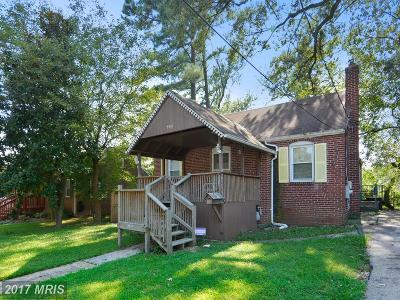 Hyattsville Single Family Home For Sale: 5510 38th Avenue
