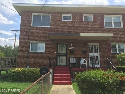 Oxon Hill Condo For Sale: 4900 Winthrop Street