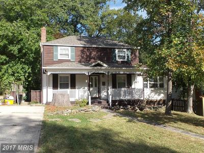Cheverly Single Family Home For Sale: 5718 Euclid Street