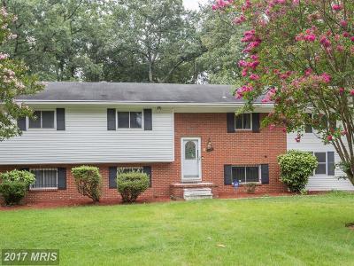 Upper Marlboro Single Family Home For Sale: 9107 Washington Avenue
