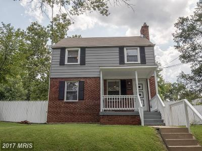 Cheverly Single Family Home For Sale: 5703 Newton Street