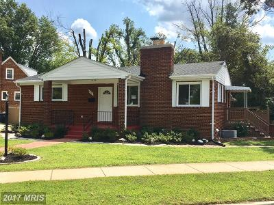 District Heights Single Family Home For Sale: 6501 Hansford Street