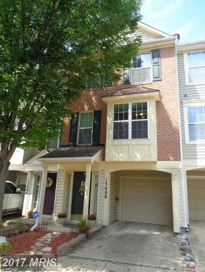 Upper Marlboro Townhouse For Sale: 13808 Edwall Drive
