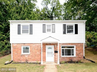 Hyattsville Single Family Home For Sale: 7408 Varnum Street