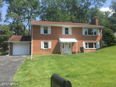 Temple Hills Single Family Home For Sale: 6414 Morton Place