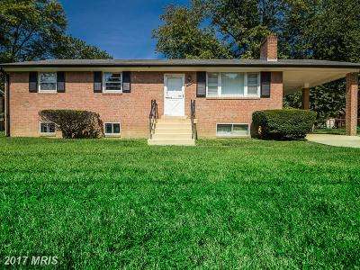Clinton MD Single Family Home For Sale: $275,000