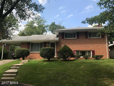 Fort Washington Single Family Home For Sale: 8003 Carey Branch Drive