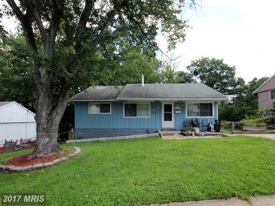 Lanham Single Family Home For Sale: 5603 Haddon Drive
