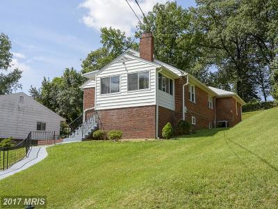 Cheverly Single Family Home For Sale: 2810 Parkway