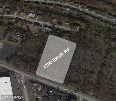 Temple Hills Residential Lots & Land For Sale: 4700 Beech Road