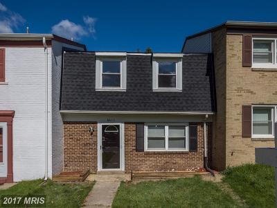 Upper Marlboro Townhouse For Sale: 8605 Binghampton Place