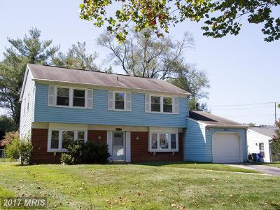 Bowie MD Single Family Home For Sale: $334,900