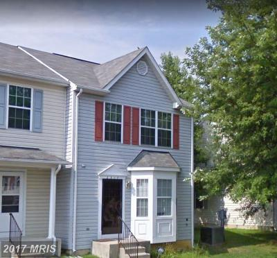 District Heights Townhouse For Sale: 2317 Seton Way