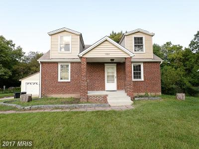 Clinton MD Single Family Home For Sale: $279,900