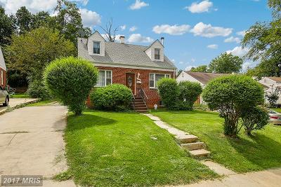Hyattsville Single Family Home For Sale: 4906 56th Avenue