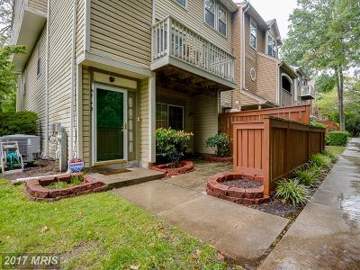 Bowie Townhouse For Sale: 4743 River Valley Way #64