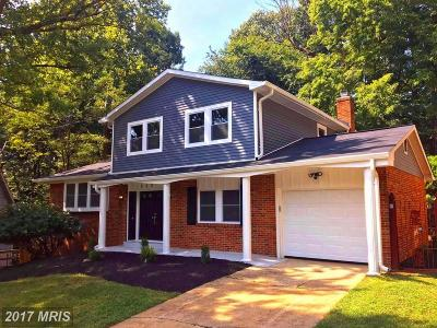 Fort Washington Single Family Home For Sale: 906 Park Terrace