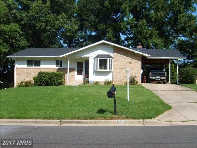 Temple Hills Single Family Home For Sale: 6723 Edgemere Drive