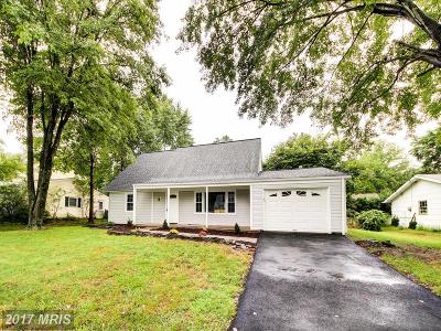 Bowie Single Family Home For Sale: 3516 Malec Lane