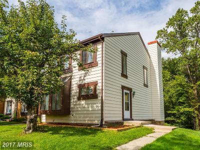 Laurel Townhouse For Sale: 15714 Millbrook Lane #51