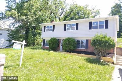 Fort Washington Single Family Home For Sale: 7502 Bellefield Avenue