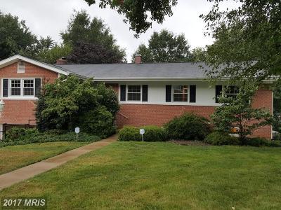 Oxon Hill Single Family Home For Sale: 7409 Riverhill Road