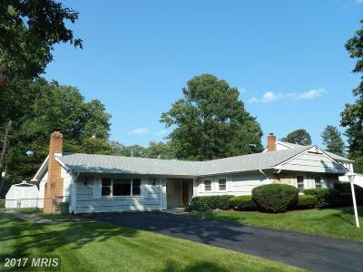 Bowie Single Family Home For Sale: 12304 Melling Lane