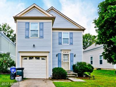Bowie MD Single Family Home For Sale: $299,999
