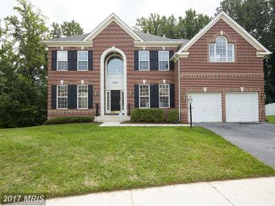Bowie, Odenton, Upper Marlboro Single Family Home For Sale: 9907 Glenkirk Way