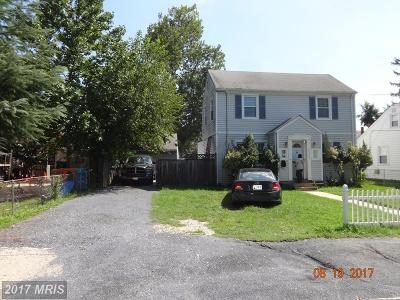 Hyattsville Single Family Home For Sale: 6223 20th Avenue