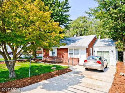 Oxon Hill Single Family Home For Sale: 6629 Saint Barnabas Road