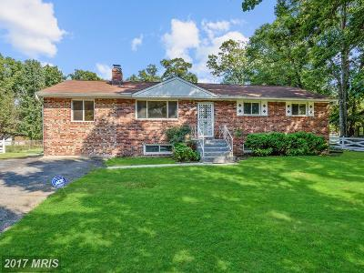 Accokeek Single Family Home For Sale: 15600 Cedar Drive