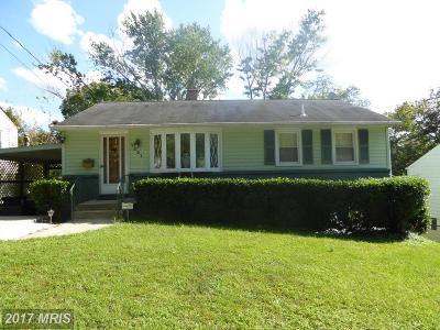 Lanham Single Family Home For Sale: 7221 Patterson Street