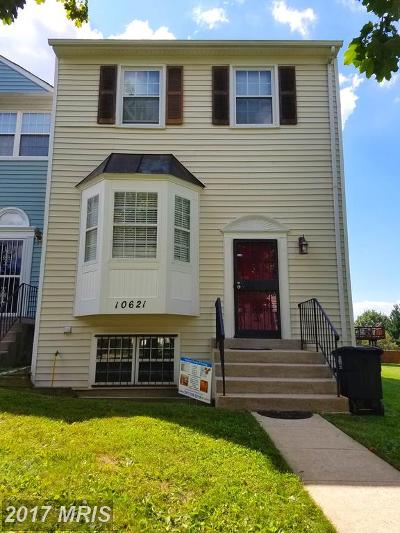 Upper Marlboro Townhouse For Sale: 10621 Campus Way S