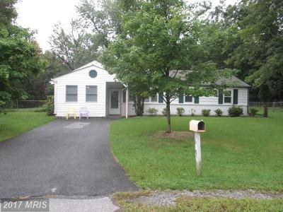 Clinton MD Single Family Home For Sale: $179,000