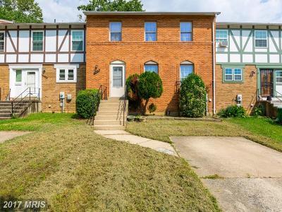 Laurel Townhouse For Sale: 7618 Carissa Lane