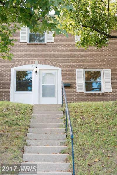 Laurel Townhouse For Sale: 12133 Dove Circle