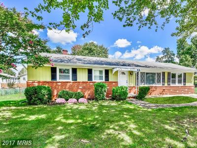 Laurel Single Family Home For Sale: 8524 Mulberry Street