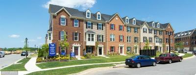 Greenbelt Townhouse For Sale: 5309 Settling Pond Lane