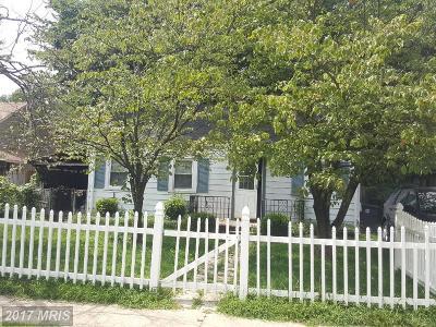 Hyattsville Single Family Home For Sale: 5606 31st Avenue