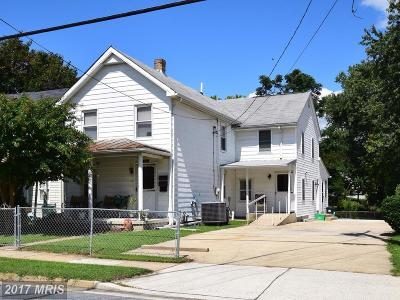 Laurel Multi Family Home For Sale: 929 Montgomery Street