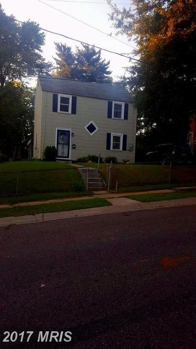 Landover Single Family Home For Sale: 2406 Fire House Road