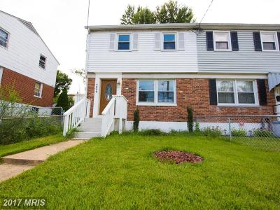 Oxon Hill Condo For Sale: 5829 Ottawa Street