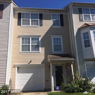 District Heights Townhouse For Sale: 7007 Wildrose Court