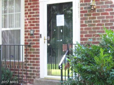 Bowie Townhouse For Sale: 1711 Barrington Court