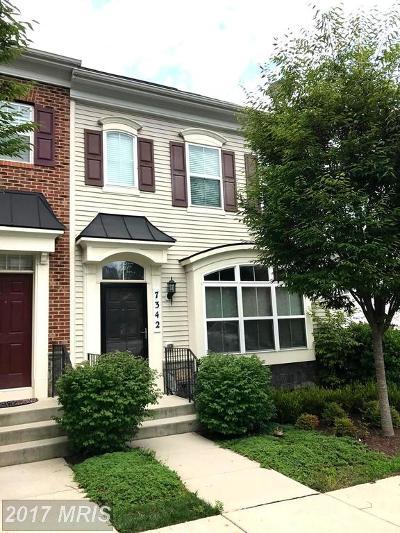 Laurel Townhouse For Sale: 7342 Breckenridge Street